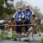 Dick & Marilyn & Bamboo Tandem in Rossmoor