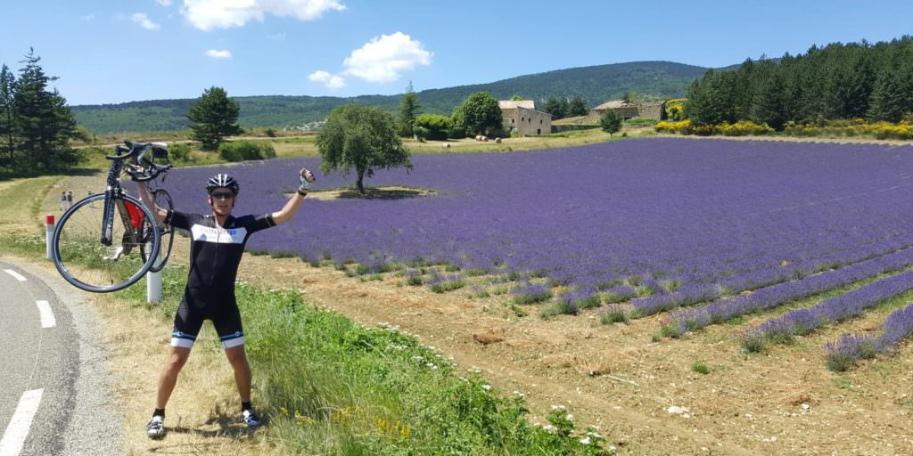 Pedaling through Provence