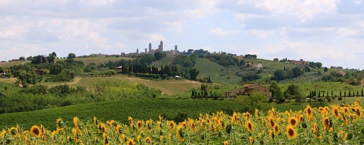 Tuscany Bike Tours - San Gimignano