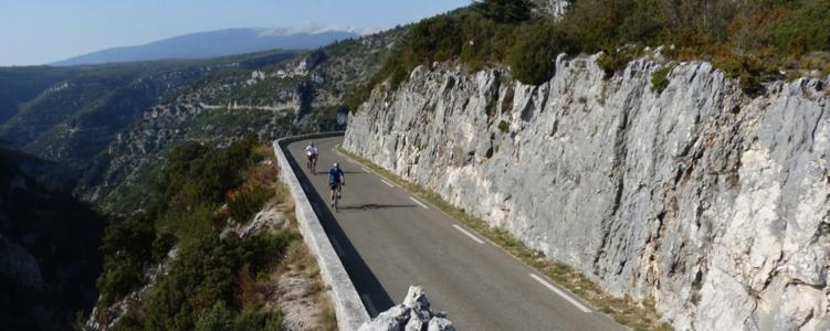 Gorges de la Nesque - Provence Bicycle Tour