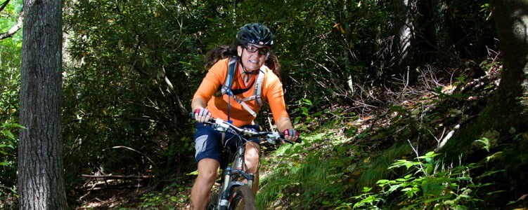 Technical mountain bike tours in North Carolina