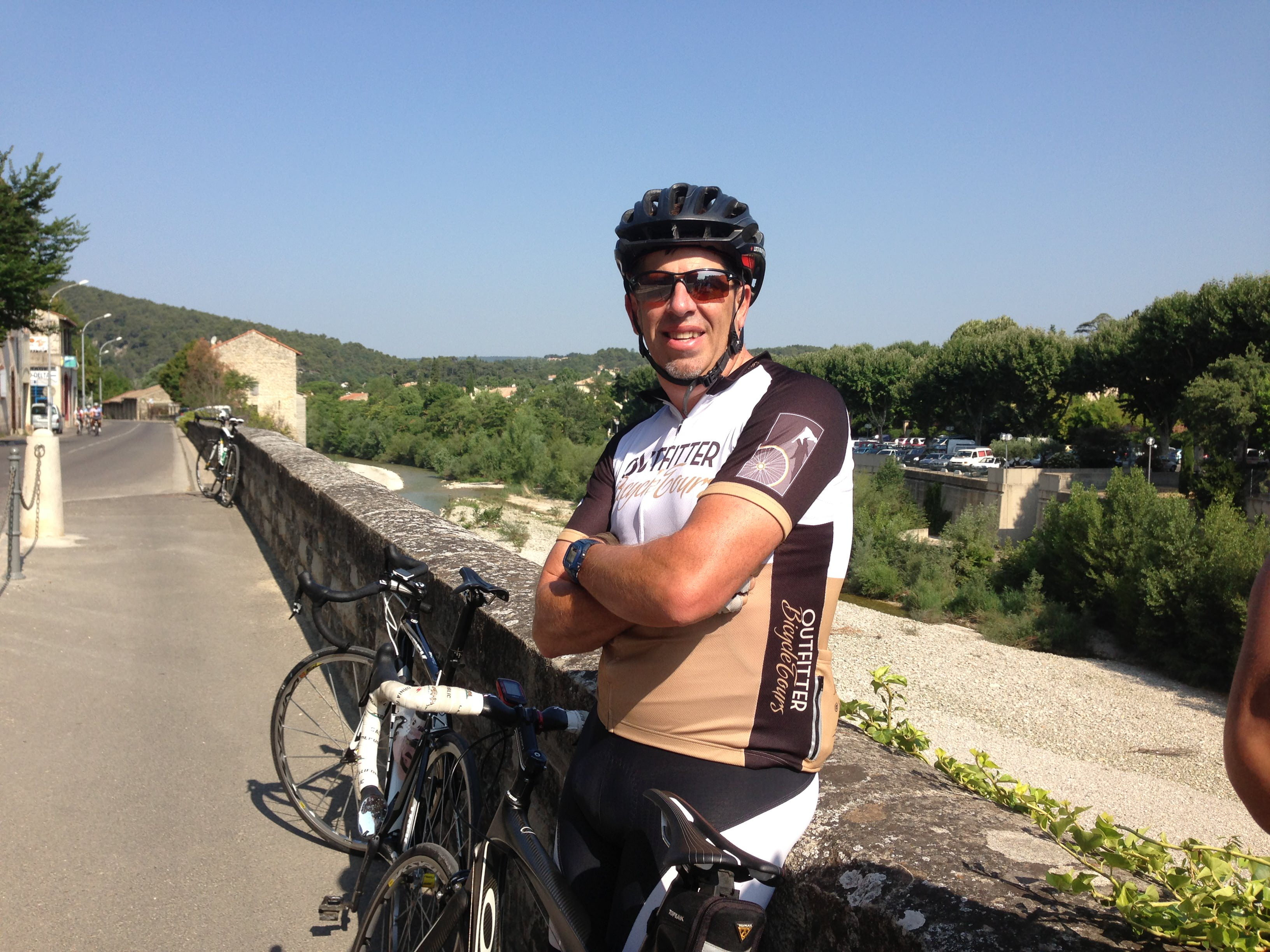 Happy Guest Andrew Murray on our 2013 Tour de France Spectator Tours