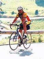 Dick on Alpe d'Huez