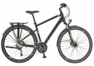 Burgundy Hybrid Bike