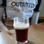 Tasting a pint during a Craft Beer Bike tour