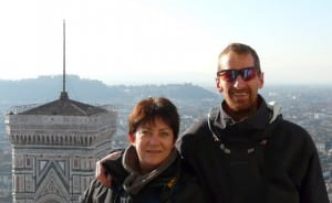 self-guided bike tours Tuscany - Bruno & Susanna
