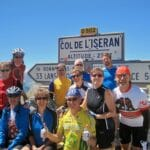 Tour de Frane on the Col de L'Iseran