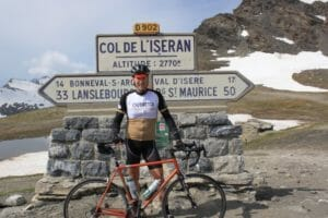 Outfitter Bicycle Tours on the Col de L'Iseran