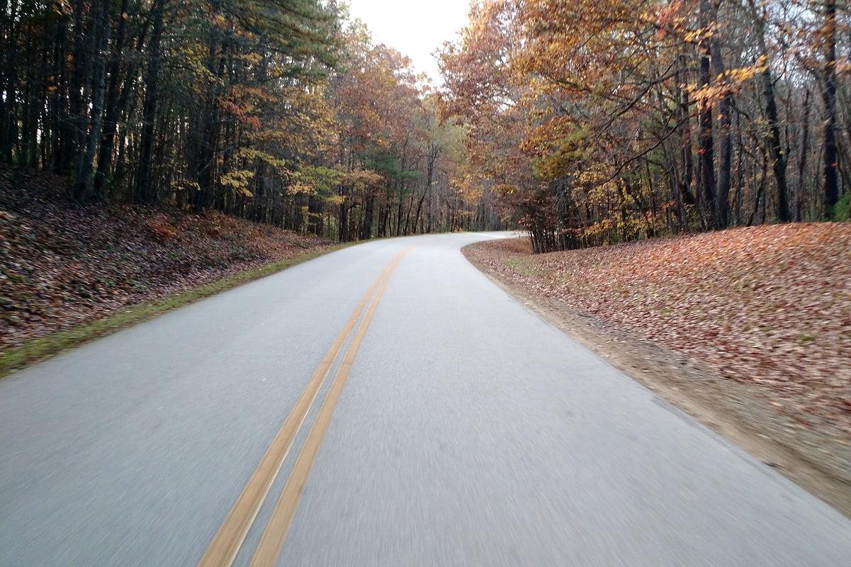 bike ride on the blue ridge parkway