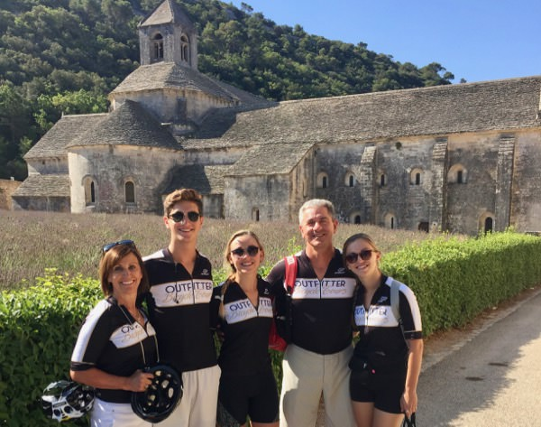 Self-Guided Bicycle Tours with an Abbey in Provence