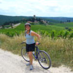 Basking in the sun in Chianti during a Tuscany cycling holiday