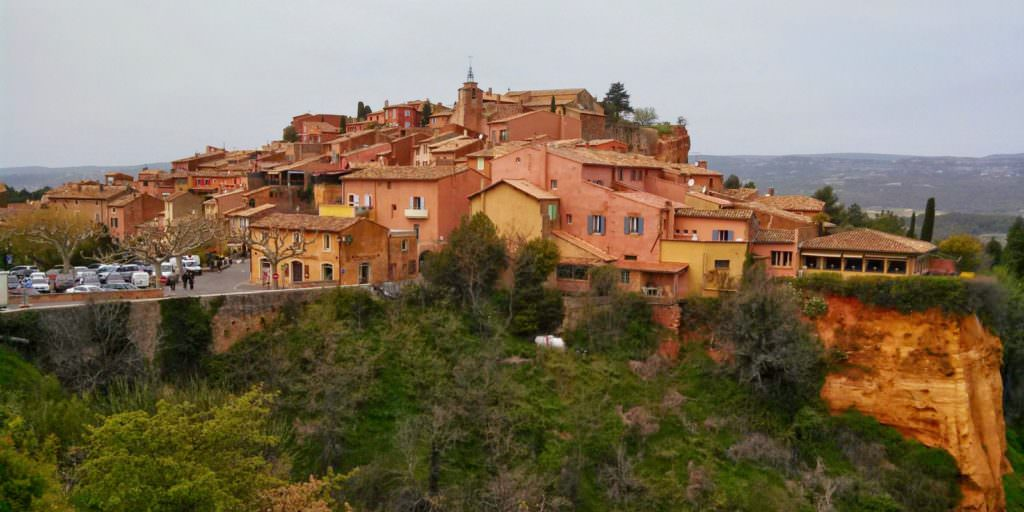 roussillon in the luberon
