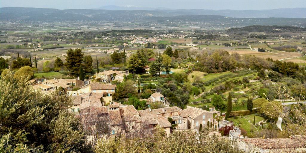 View of the Luberon