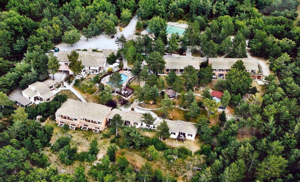 Ariel photo of Hostellerie du Val de Sault in Sault France