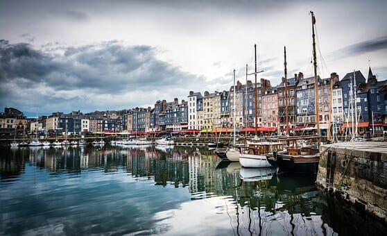 Honfleur on a bicycle tour