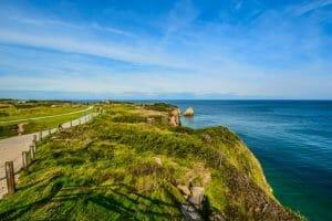 Normandy Coast on a bike tour