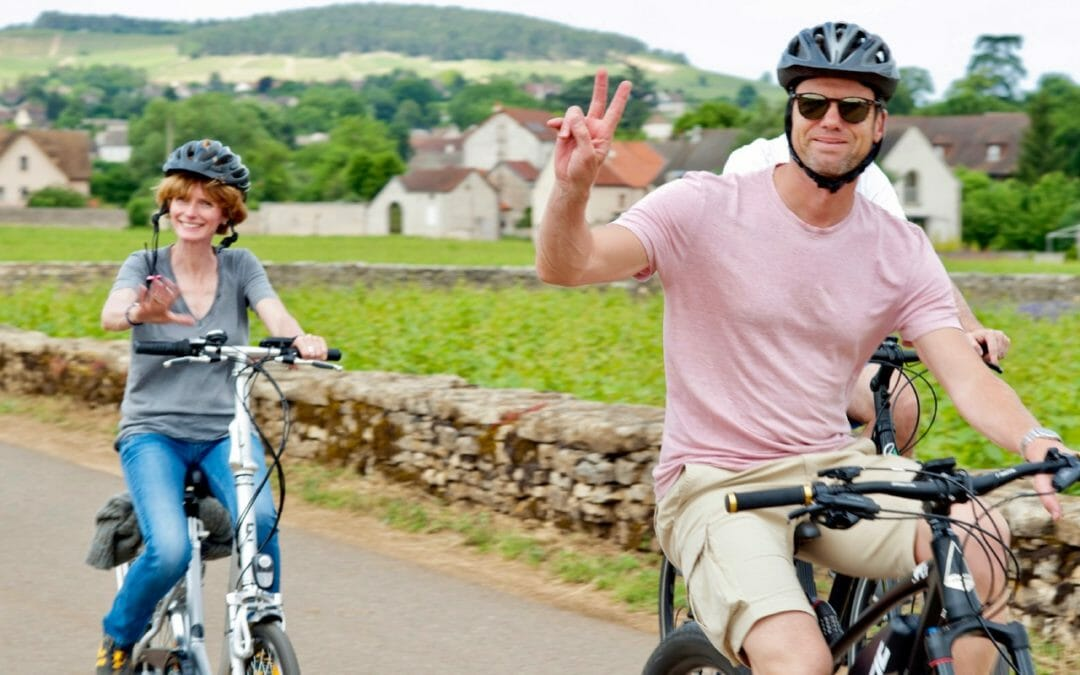 eBikes on a Burgundy Bike Tour